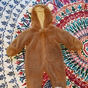 NWT Just One You Bear Jumpsuit 3M